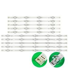 Substituição de barra de luz de fundo led, barra de faixa para lg 50lf5610 50lf652v lf561v lc500duh fg