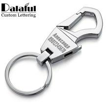 Cool Customized Logo Keychain Beer Opener Bottle Engraved Name Custom Lettering Key Chain Ring Men Car Personalized Gift K406