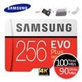 SAMSUNG Speicher Karte EVO Plus 4K Ultra HD Micro SD 256GB 128G 64GB Class10 MicroSD Karte c10 UHS-I Trans Flash MicroSD Karte