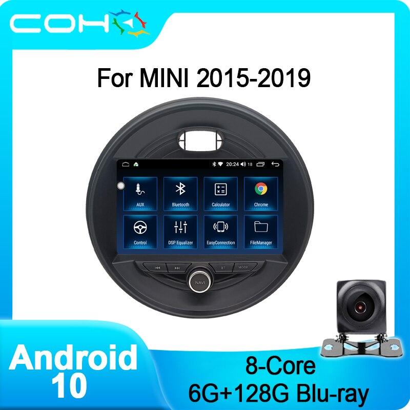Для BMW MINI Cooper F54 F55 F56 F60 2015-2019 автомобильный Dvd мультимедийный плеер Радио Android 10,0 Octa Core 6 + 128G автомобильный стерео плеер