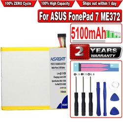 HSABAT 5100mAh C11P1310 Battery for ASUS FonePad 7 ME372 ME372CG K00E Tablet PC
