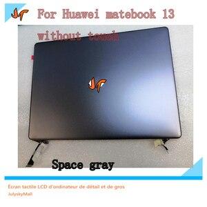 Image 2 - جديد الأصلي 13 بوصة محمول IPS شاشة عرض 2160x1440 القرار لهواوي MateBook 13 WRT W29 WRT W19 استبدال العرض