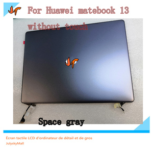 Image 2 - New original 13 inch laptop IPS display screen 2160x1440 resolution for Huawei MateBook 13 WRT W29 WRT W19 display replacement