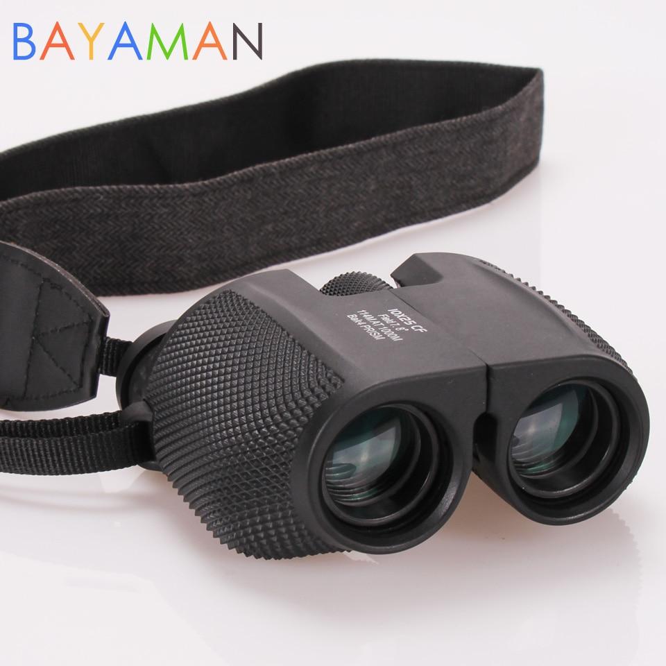 Outdoor Sports Optical Telescope Small High Power Time Binoculars Gift For Children HD All-optical Green Film Waterproof  Kids