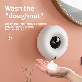 Z04 pączki bezdotykowy dozownik do mydła 280ML automatyczny dozownik mydła dozownik do mydła dozownik do mydła dozownik do mydła dozownik do mydła dozownik do mydła do łazienki tanie i dobre opinie centechia NONE CN (pochodzenie) Gotowa do działania Foaming Soap Dispenser inne Dropshipping Wholesale Smart Home Automation Module