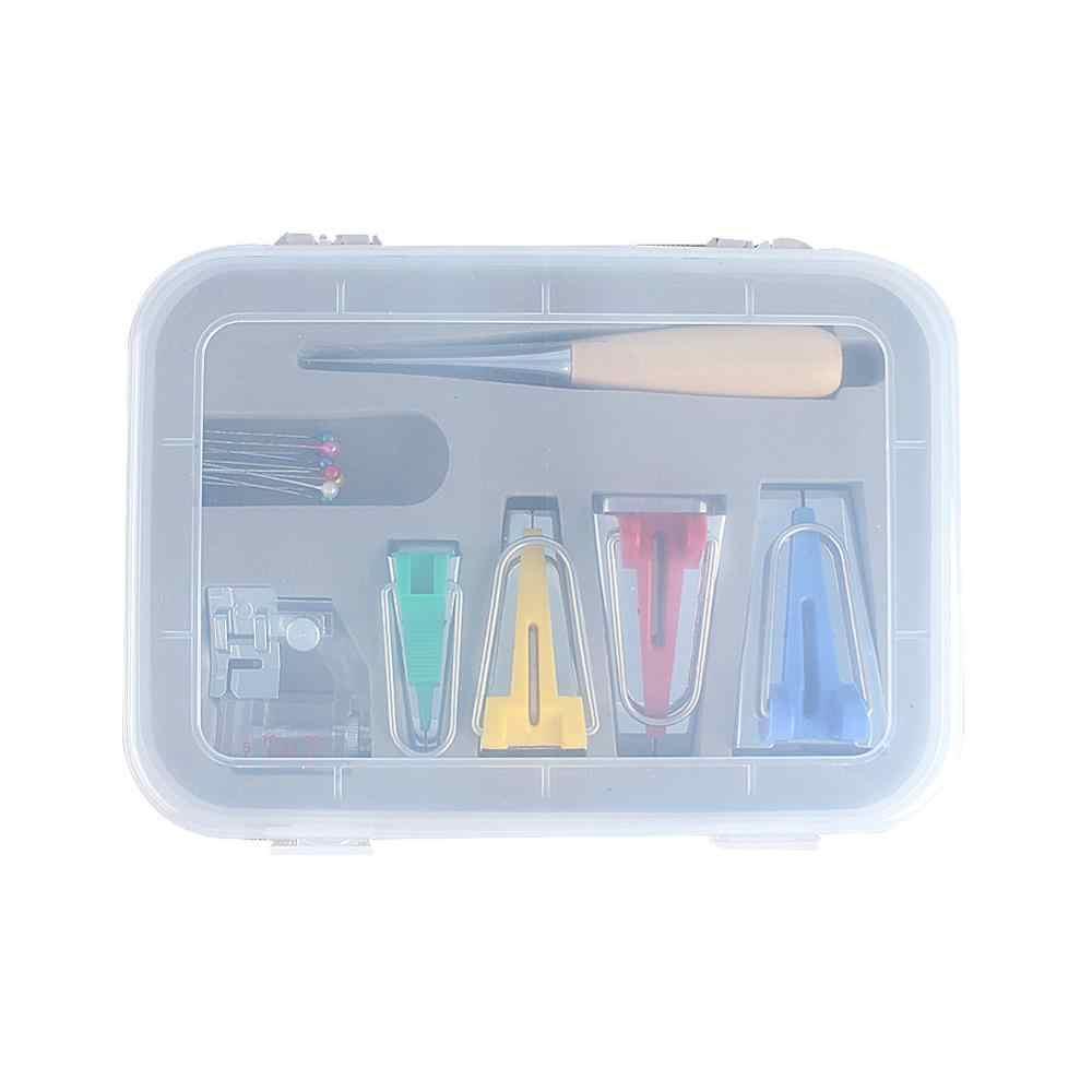 多機能縫製バイアステープメーカーセット diy パッチワークキルティングツール家庭用機バインディング縫製用品アクセサリーホット