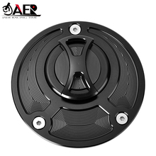 JAER Motocycle CNC Fuel Tank Cap Cover for Ducati Monster SuperSports 1098 S/R 748 916 996 998 848