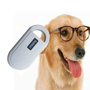 Image 4 - Сканер микрочипов для домашних животных ISO11785/84, считыватель радиочастотных чипов для собак, считыватель котов, сканер для животных