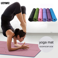 Professional Yoga Mat Fitness Environmental Protection Non Slip Tasteless Sports Fitness Gymnastics Mat Sports Accessories