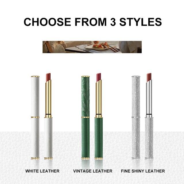 6 Colors Velvet Matte Lipsticks Pen Waterproof Long Lasting Sexy Red Lip Stick Gloss Moisturizing Makeup Lip Tint Pen Cosmetic 3