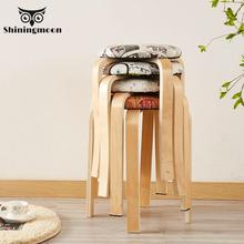 Japanese Style Vintage Solid Wood Chair Modern Minimalist Restaurant Coffee Dining Room Chairs Nordic Single Furniture Chair