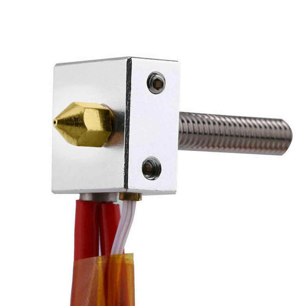 19 pièces MK8 buse d'extrudeuse 0.2 ~ 1.0mm pour Makerbot crealité CR-10 Ender imprimante 3D