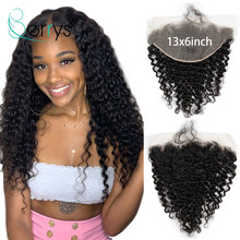 Brazilian 10A 13x6 TRANSPARENT Lace Frontal Ear To Ear Deep Wave Lace Frontals Glueless Bleached Knots Swiss Lace Virgin Hair