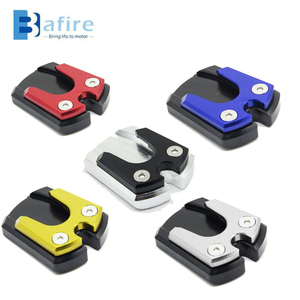 BAFIRE Universal Motorcycle Side Stand Pad Plate Kickstand Enlarger Support Extension Fit Most Motorbikes For Honda For Kawasaki