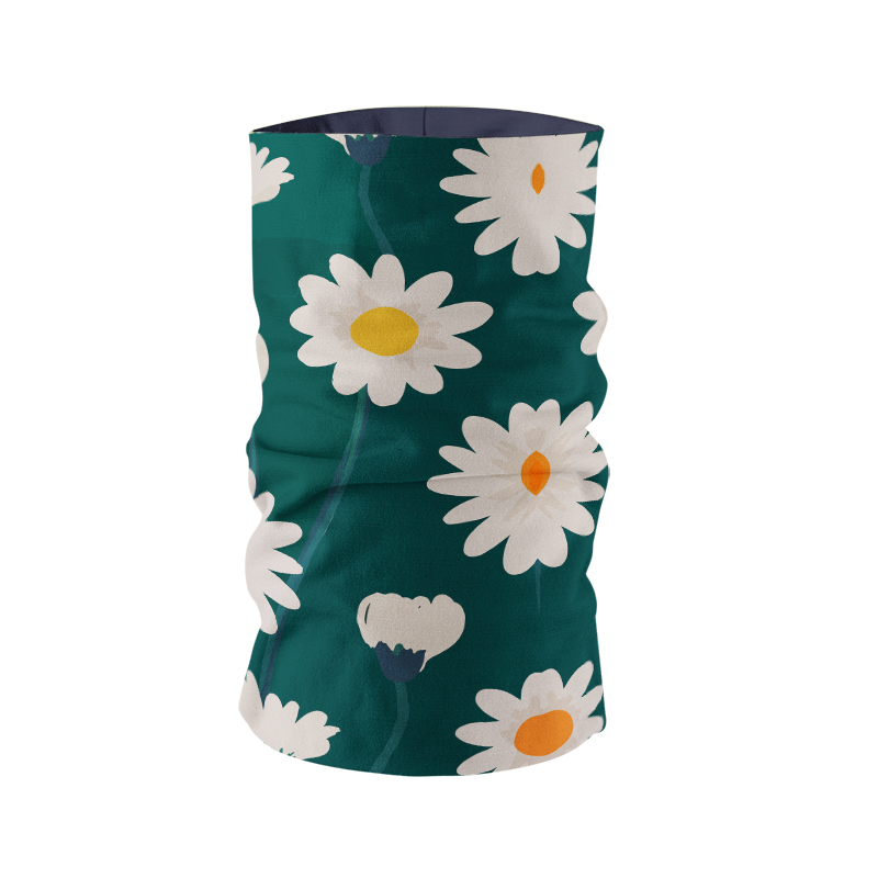 Flower neck gaiter for kids