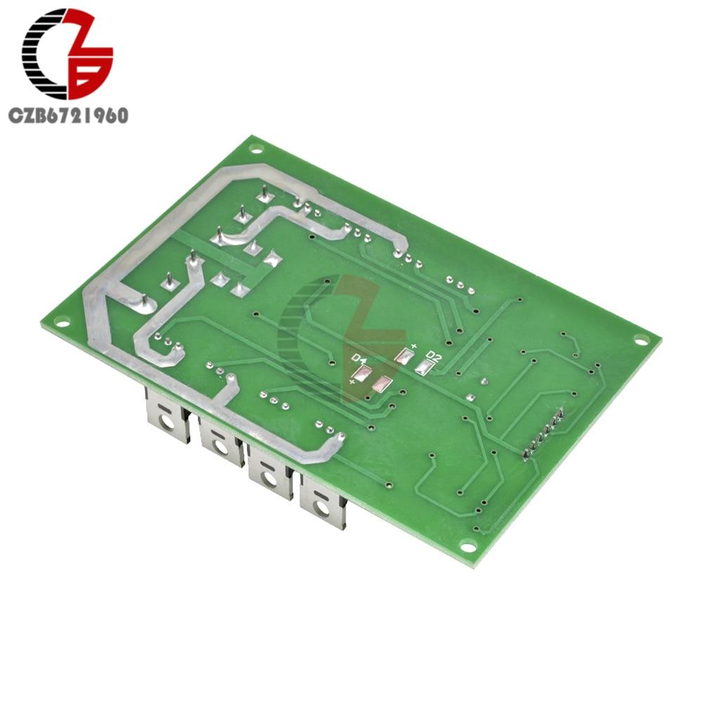 Dual DC Motor Driver Board H-Bridge PWM DC Motor Drive Module MOSFET  IRF3205 12V 24V 10A Peak 30A with Brake Function