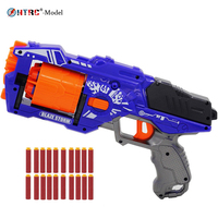 toy gun with 20 pieces darts bullets Refill Darts Toy Bullets Foam Safe Sucker Bullet for Nerf Toy kids Gun