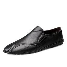 Новинка; мужские кожаные ботинки; удобные повседневные осенние ботинки из водонепроницаемого материала; Мужская обувь в деловом стиле; кожаная обувь в горошек;% 8207