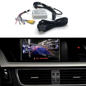 Car Accessories Front And Rear Camera Interface Decoder For 2009 2010 20112012 2013 2014 2015 Audi A4 A5 Q5 Symphony / Concert