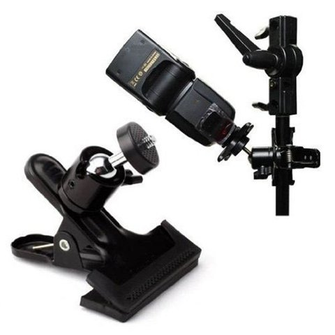 For Gopro camera ball heads strong clip flash clip bracket desktop bracket background board clip universalraphy Multan