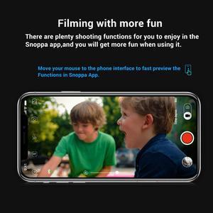 Image 5 - Snoppa Atom eine Taschenformat Faltbare 3 achse Smartphone Handheld Gimbal Stabilisator w/Focus Pull & Zoom für iPhone 11 Pro XS MAX