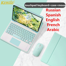 Touchpad Keyboard Mouse Case For iPad Pro 9.7 10.5 11 Air 2 3 10.2 2019 2017 2018 2020 5th 6th 7th Generation Cover Keypad mouse