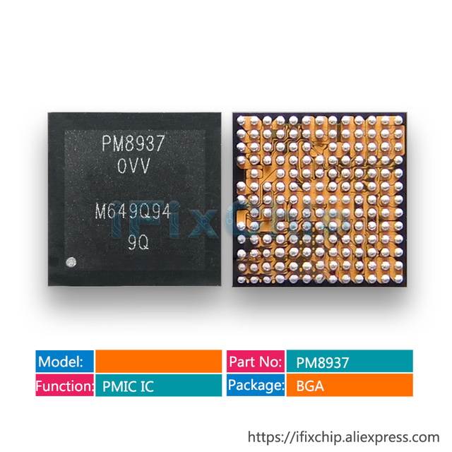 10 stks/partij PM8937 0VV Power IC Voor Redmi3 Power IC Voeding Chip PM IC PMIC