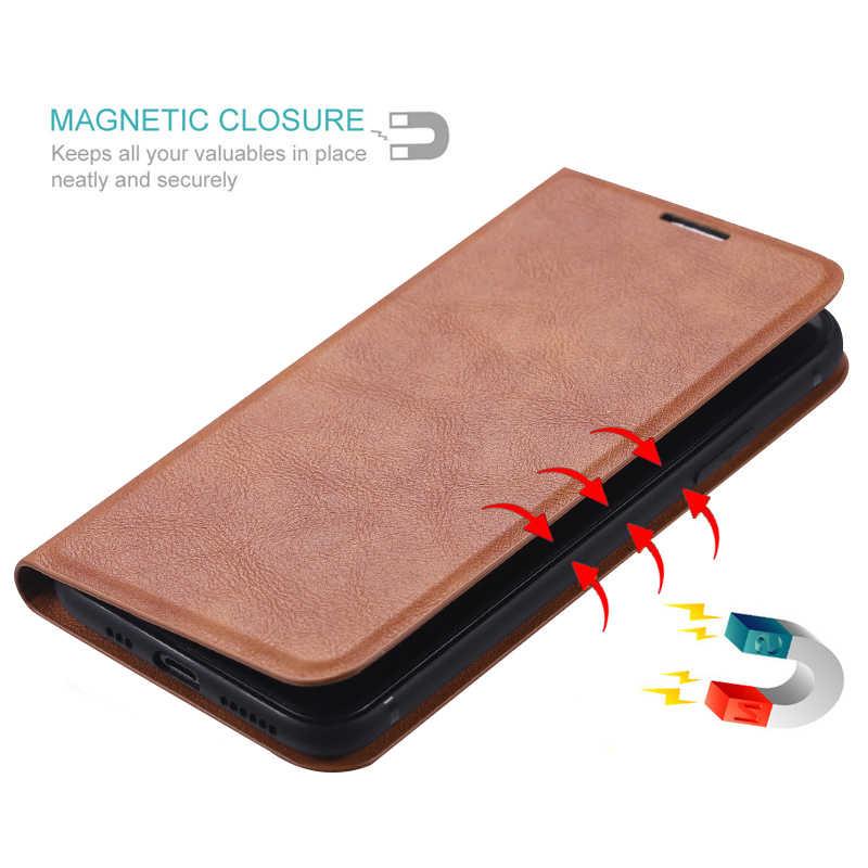 מגנטי עור Flip ארנק כיסוי עבור iPhone 6 6s 7 8 בתוספת X XR מקרה עבור iPhone 11 פרו XS מקסימום כרטיס מחזיק Stand כיסוי