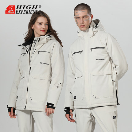 HIGH EXPERIENCE Snowboard Suit Men And Women Suit Korean Thick Waterproof Breathable Ski Pants Ski Equipment, Free Shipping