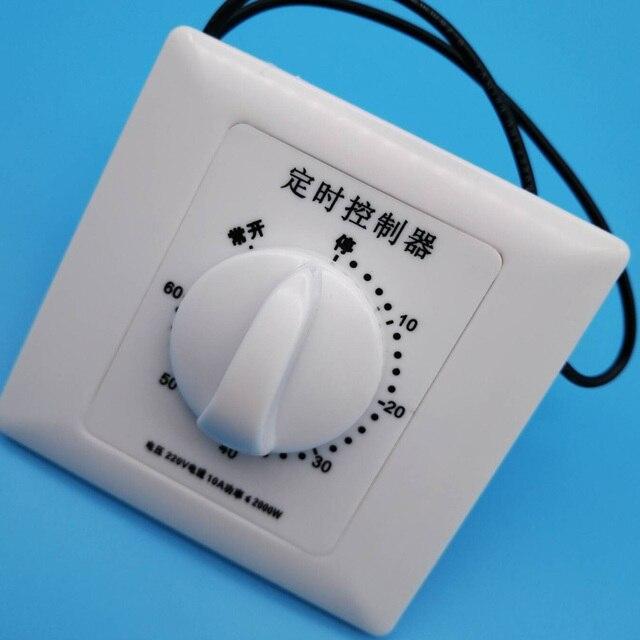 الأوزون الموقت 0 120mins 0 60mins مناسبة ل DIY مولد أوزون تنقية لمنع التنفس الثقيلة الأوزون + FS