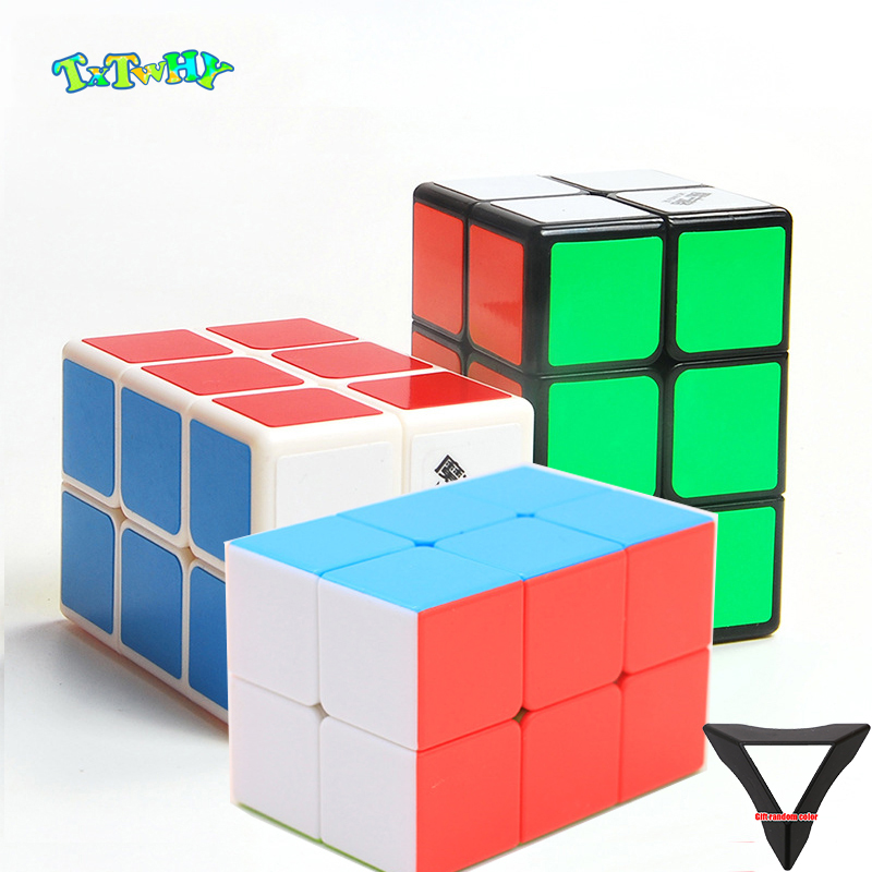 QiYi MoFangGe 2x2x3 Magic Cube 223 White/Black/color Professional Magics Speed Puzzle Cubes Kids Educational Funny Toys For Boys