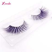 New 9D color mink false eyelashes wholesale fake lashes natural long makeup lashes extension eyelash mink eyelashes for beauty