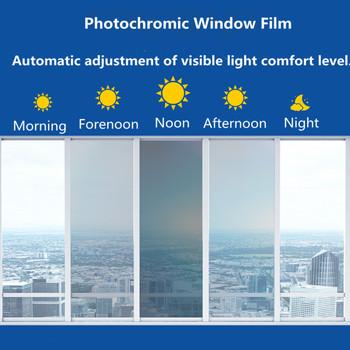 Folia zaciemniająca okna SUNICE 50*100 200 300 500cm niebieski samochód strona główna folia zaciemniająca okna szklana folia VLT 75 ~ 20 folia fotochromowa lato UV Protector tanie i dobre opinie 80 -100 60 -80 1inch Przednia Szyba Folie na lusterka Folie okienne i ochrona słoneczna 0 2kg Sun Control Blue to Purple