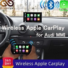 2021 IOS Auto Apple Airplay Drahtlose CarPlay Box Für Audi A1 A3 A4 A5 A6 Q2 Q3 Q5 S5 Q7 original Bildschirm Upgrade MMI System