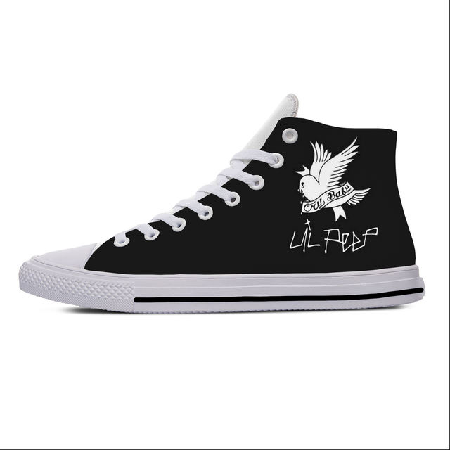LIL PEEP THEMED HIGH TOP SHOES (16 VARIAN)