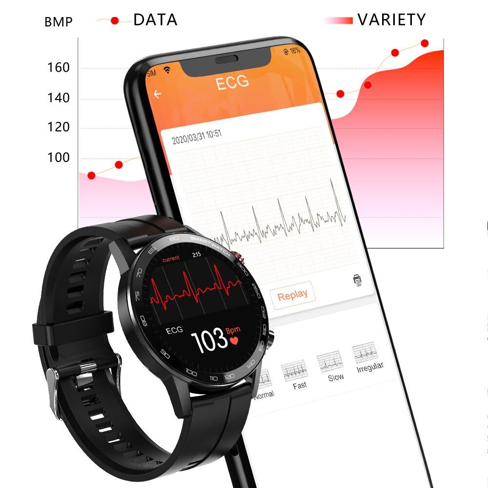 cheapest LEMFO SG2 ECG Smart Watch Men IP68 Waterproof Full Touch Healthy Fitness Tracker Blood pressure Oxygen Women Smartwatch 2020