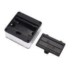 Электронный транспортир Цифровой Инклинометр измеритель углов магнитное основание измерительный инструмент 0-360 Алюминий сплав цифровая коническая коробка