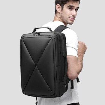 "Brand Designer Men Pattern 15.6"" Laptop Backpacks Women 3D Waterproof Business Backpack Travel Fashion Luggage Anti theft Bags"