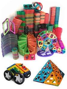 Parts Model-Building-Toys Magnet Construction-Toys Toddlers Designer for 1pcs DIY
