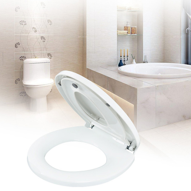 Double Layer Adult Toilet Seat Child Potty Training Cover Prevent Falling Toilet Lid For Kids PP Material Slow-Close Travel Pot 4