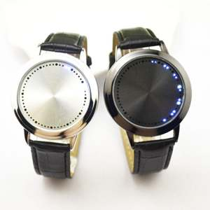 Digital Clock Watch Couple Smart Women LED Student Touch-Screen Simple