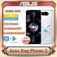 "ROG Phone 5 Snapdragon888 8/12/16G RAM 128/256G ROM 144Hz Samsung AMOLED Screen 6.78"" 6000mAh Large Battery 5G Gaming Phone 1"