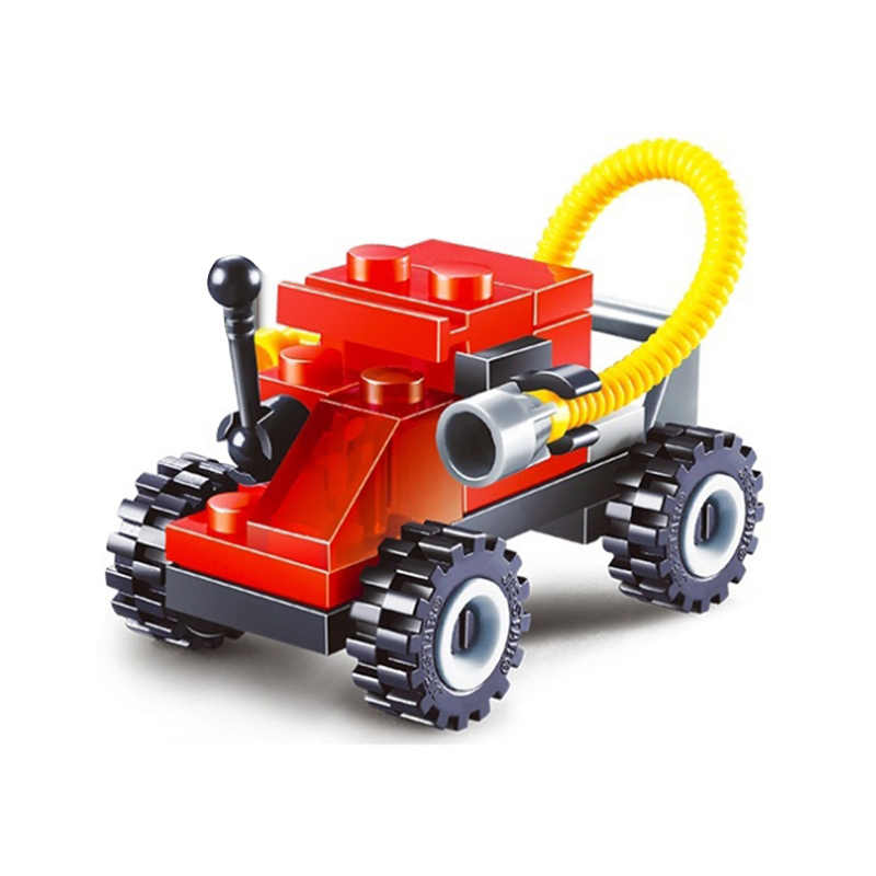 Chegada nova Dos Desenhos Animados Mini Legoings Model Building Block Stacking Brinquedos Avião Tanque DIY Educacional Brinquedo para Presentes de Natal Do Partido Do Miúdo