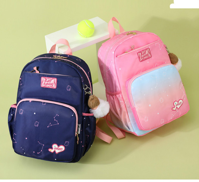 Школьные ранцы для девочек милые водонепроницаемые детские сумки