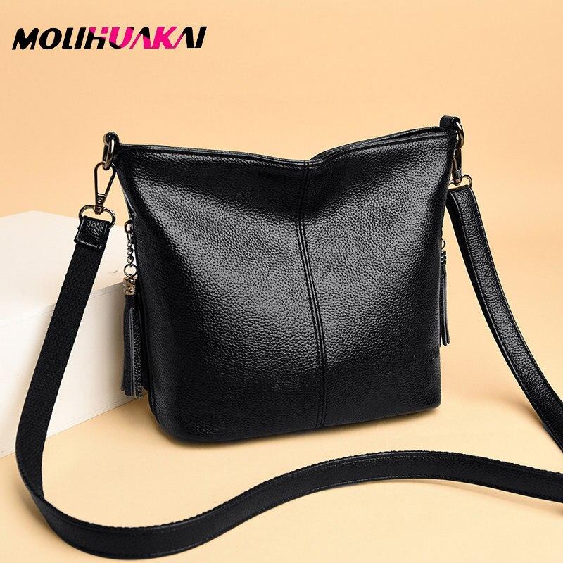 Hot Sale Women's Shoulder Bag Genuine Leather Handbag Small Women's Bag Female Crossbody Bags For Women Summer Bolsa Feminina