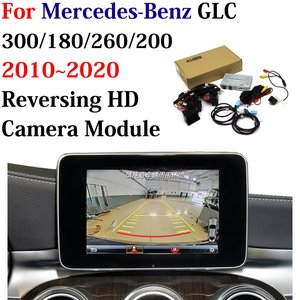 Image 1 - Car Reversing Trajectory Image Camera Decoder Adapter For Mercedes Benz GLC 300/180/260/200 2010~2020 Original Screen Upgrade