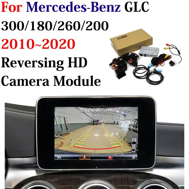Car Reversing Trajectory Image Camera Decoder Adapter For Mercedes Benz GLC 300/180/260/200 2010~2020 Original Screen Upgrade