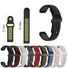 For LEMFO L7 Silicone Replacement Watchband For LEMFO L7 Smartwatch Accessories Wrist Band Strap Silicone Double Color