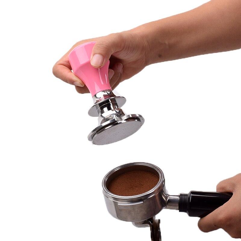 Ev ve Bahçe'ten Kahve Tokmakları'de Espresso kalibre ile kahve sabotaj sabit basınç anti basınç sapma tasarım Ayarlanabilir derinlik design58mm58.5mm'da  Grup 1