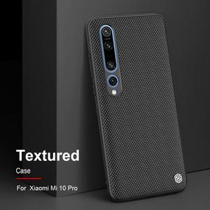 Image 2 - Nillkin Nylon PC Plastic Back Cover for Xiaomi Mi 10 Textured Case protector cover For Xiaomi Mi 10 pro
